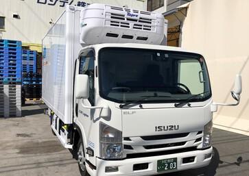 2018年9月27日本日 いすゞエルフ冷凍冷蔵車ワイドロング 2t が納... - お知らせのアイキャッチ画像